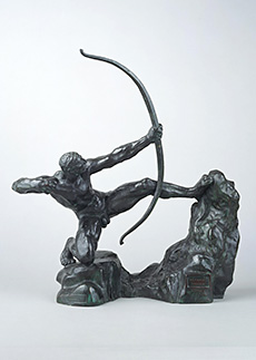 《弓をひくヘラクレス(習作)》