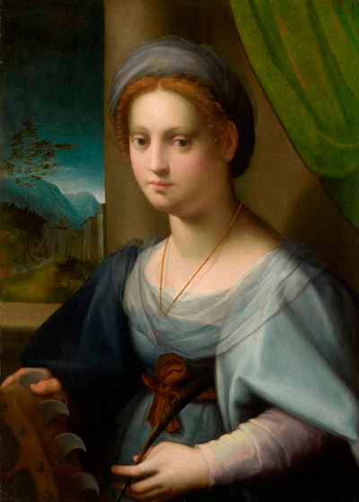 Portrait of a Lady as Saint Catherine of Alexandria