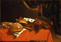 A Still Life with Musical Instruments
