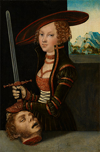 Lucas Cranach the Elder Judith with the Head of Holofernes c. 1530, Oil on panel